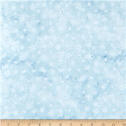Eskimo Snow Snowflake Light Blue
