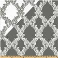 World Wide Jacquard Foxtrot Pewter
