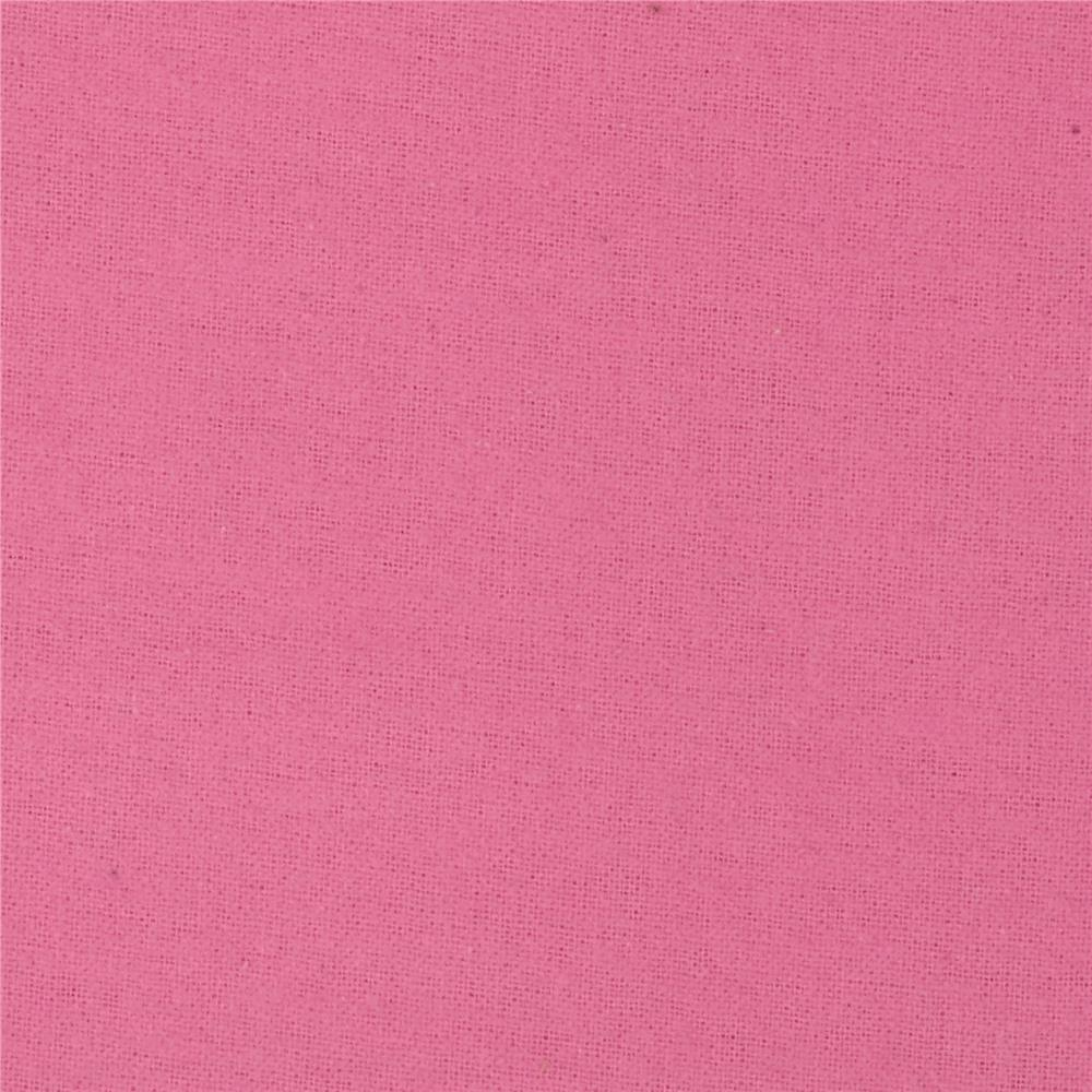 Alpine Flannel Solid Hot Pink