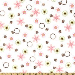 Cozy Cotton Flannel Floral Garden