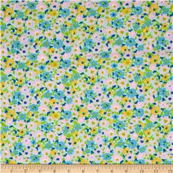 Martha Cotton Poly Broadcloth Blue