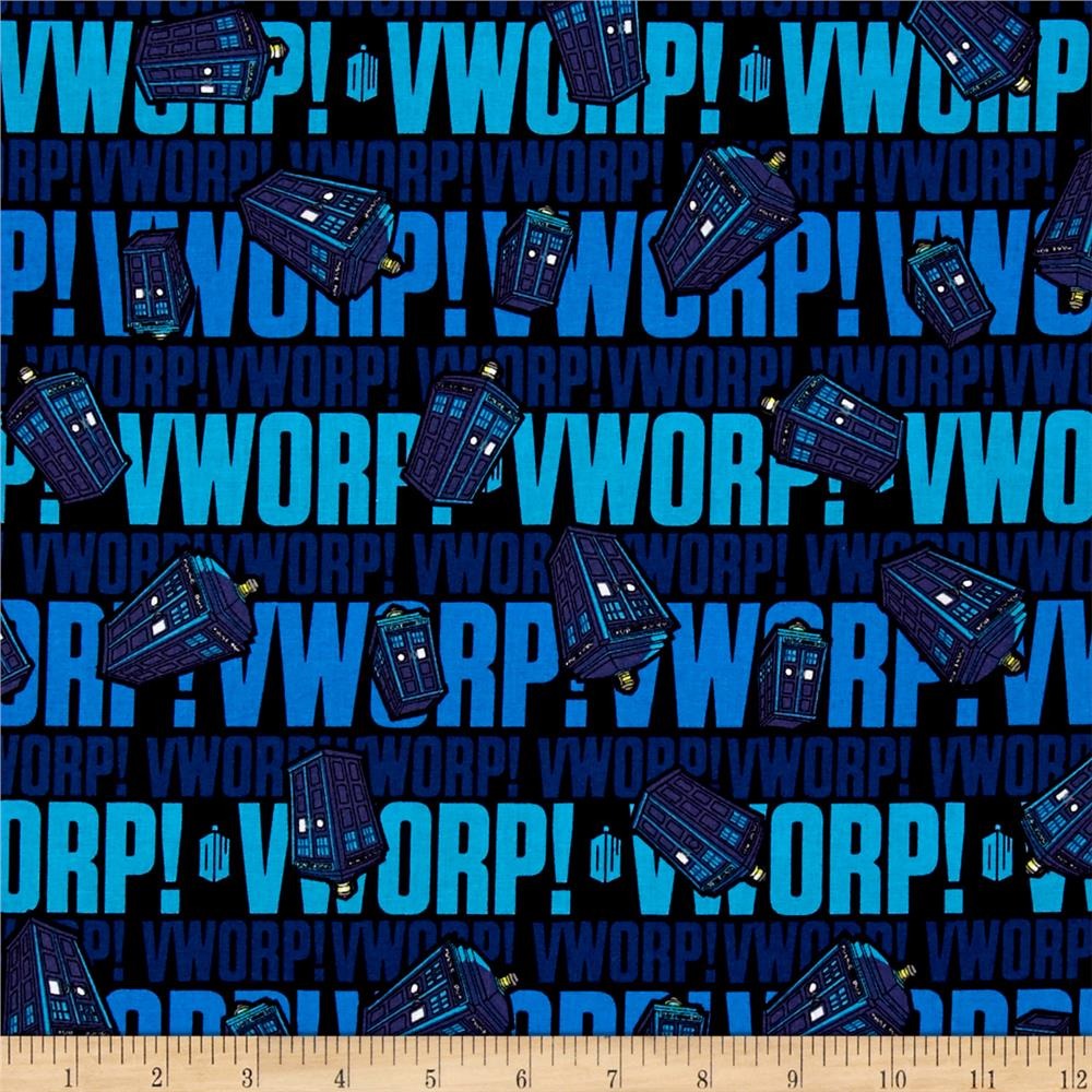 BBC Doctor Who Worp Worp Blue