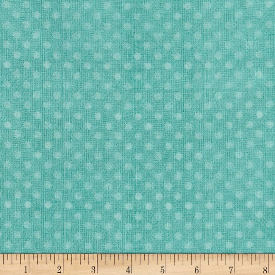 "Essential 108"" Backing Dotsy Turquoise"