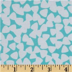 Michael Miller Pastel Pop It's A Boy Thing Flannel Tiny Guitar Picks Aqua
