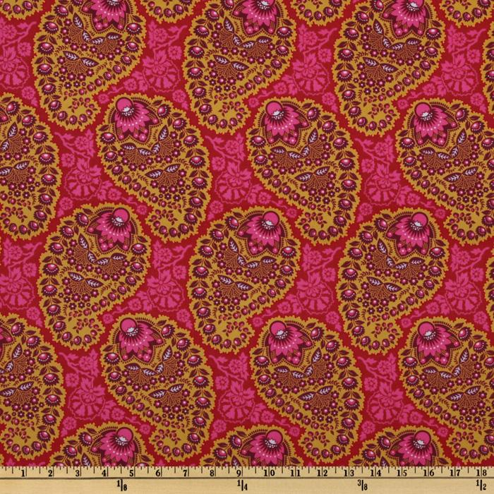 Joel Dewberry Heirloom Paisley Garnet