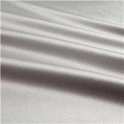 Silky Satin Charmeuse Solid Platinum