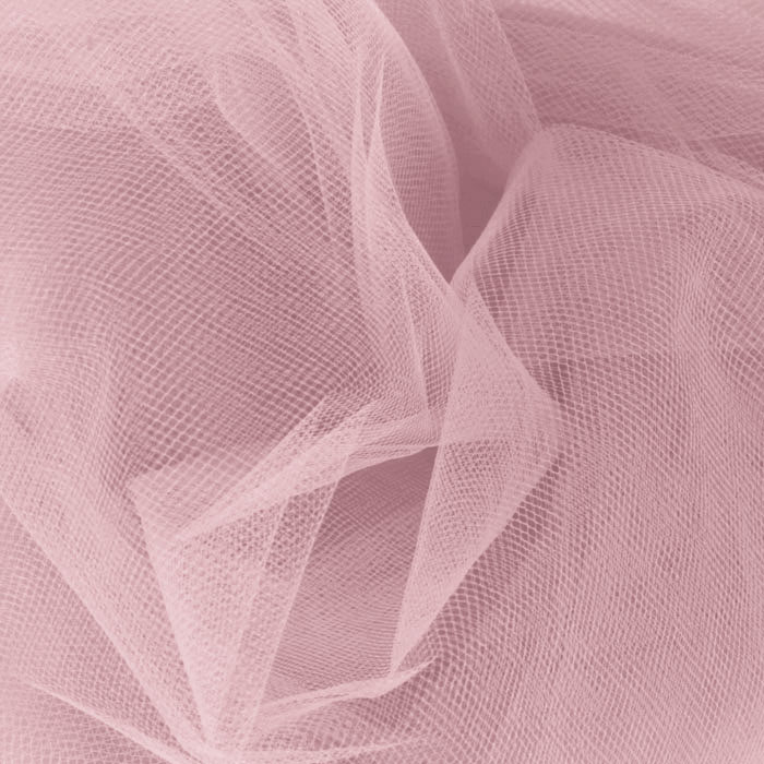 Image of 54'' Wide Tulle Rosette Fabric