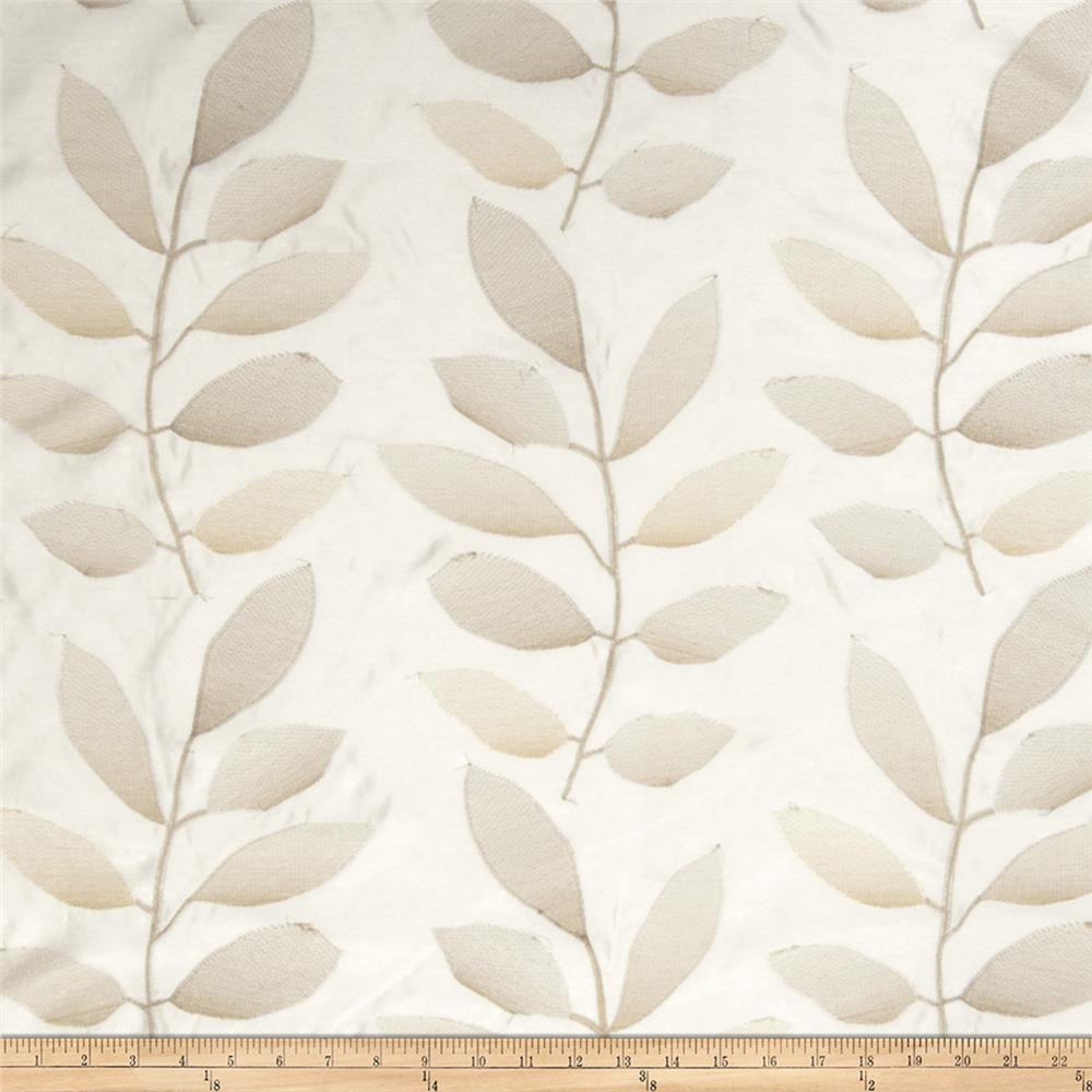 Fabricut Acamar Embroidered Vanilla