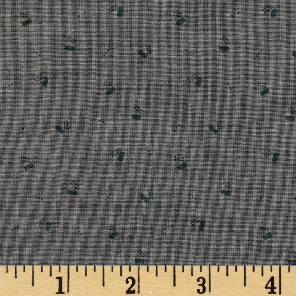 Jeanne Horton The Settlement Collection Geo Shirting Grey