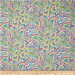 Dear Stella Sunday Morning Paisley Purple