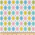 Jamboree Flannel Pastel Animal Argyle