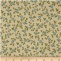 Windham Secrets and Shadows Floral Vim  Green