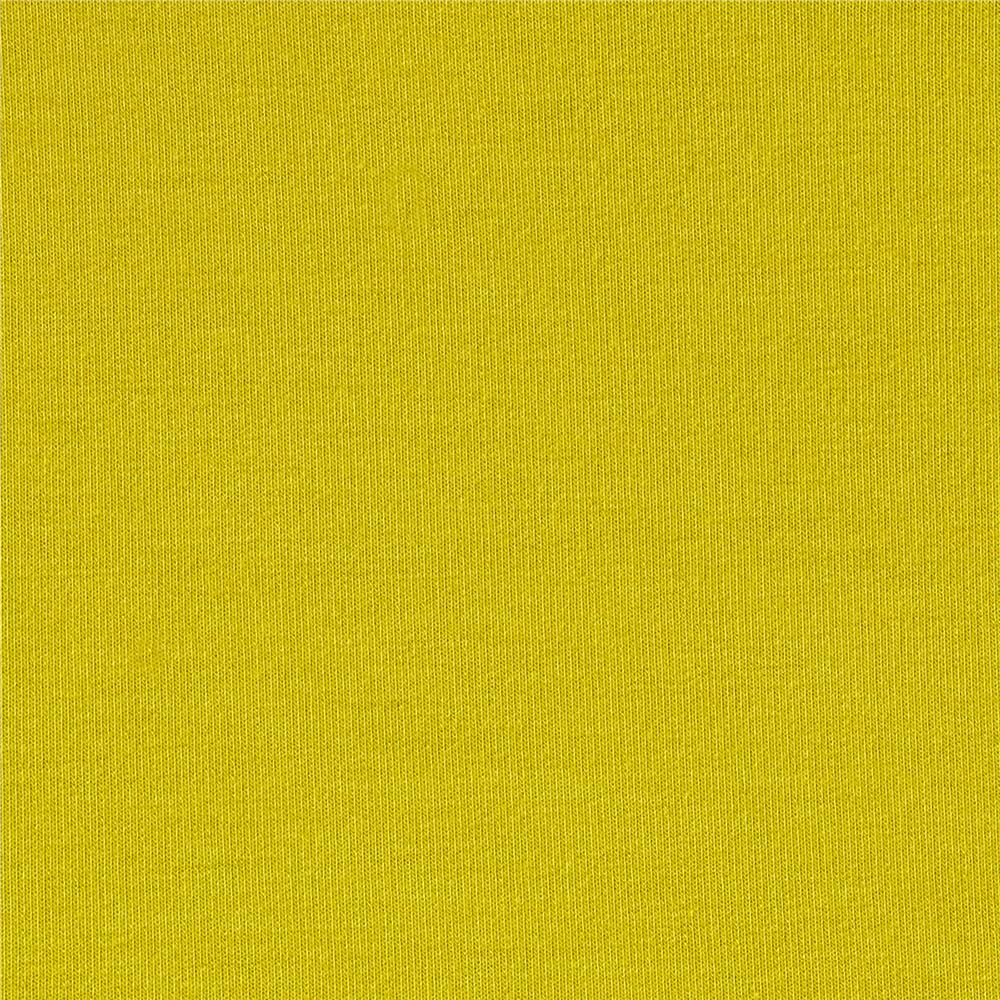 Telio Stretch Bamboo Rayon French Terry Knit  Chartreuse