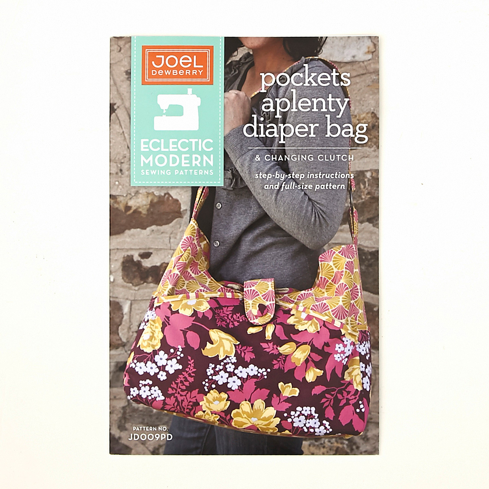 Joel Dewberry Pockets Aplenty Diaper Bag & Changing