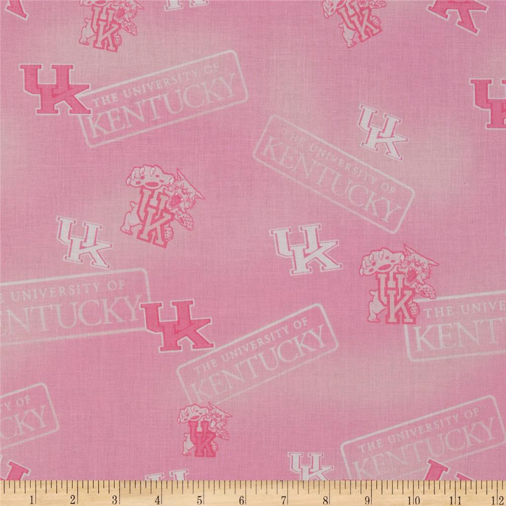 Collegiate Cotton Broadcloth Kentucky Pink
