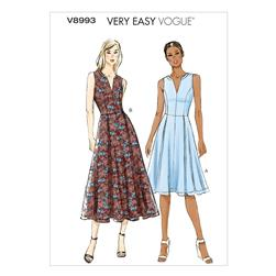 Vogue Misses'/Misses' Petite Dress Pattern V8993 Size B50
