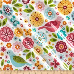 Riley Blake Summer Song 2 Laminate Main White