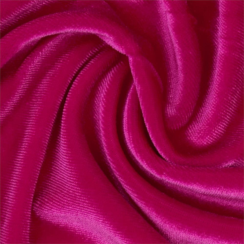 Stretch Velvet Fuchsia