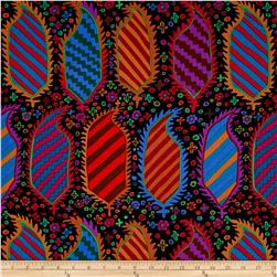 Kaffe Fassett Collective Striped Herald Black