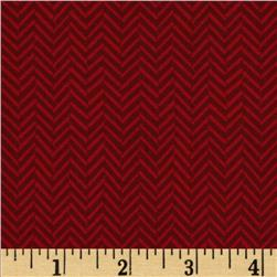 Riley Blake Maverick Chevron Red