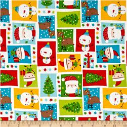 Novelty Christmas Icons Multi
