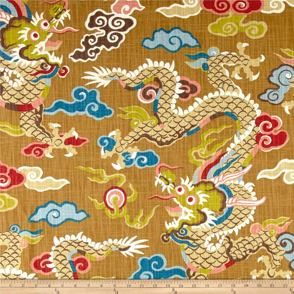 Home Accent Dragon Gold