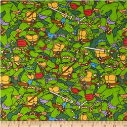 Teenage Mutant Ninja Turtles Flannel Heroes on the