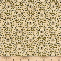 Moda Garden Notes Garden Vines Daisy Linen