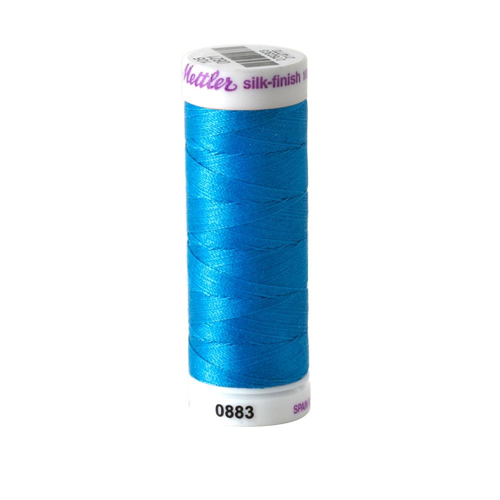 Mettler Cotton All Purpose Thread Tropical Blue