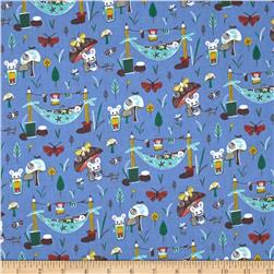 Mouse Camp Little Mice Blue