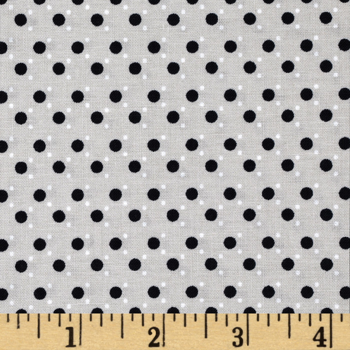 Small Dots Grey Fabric
