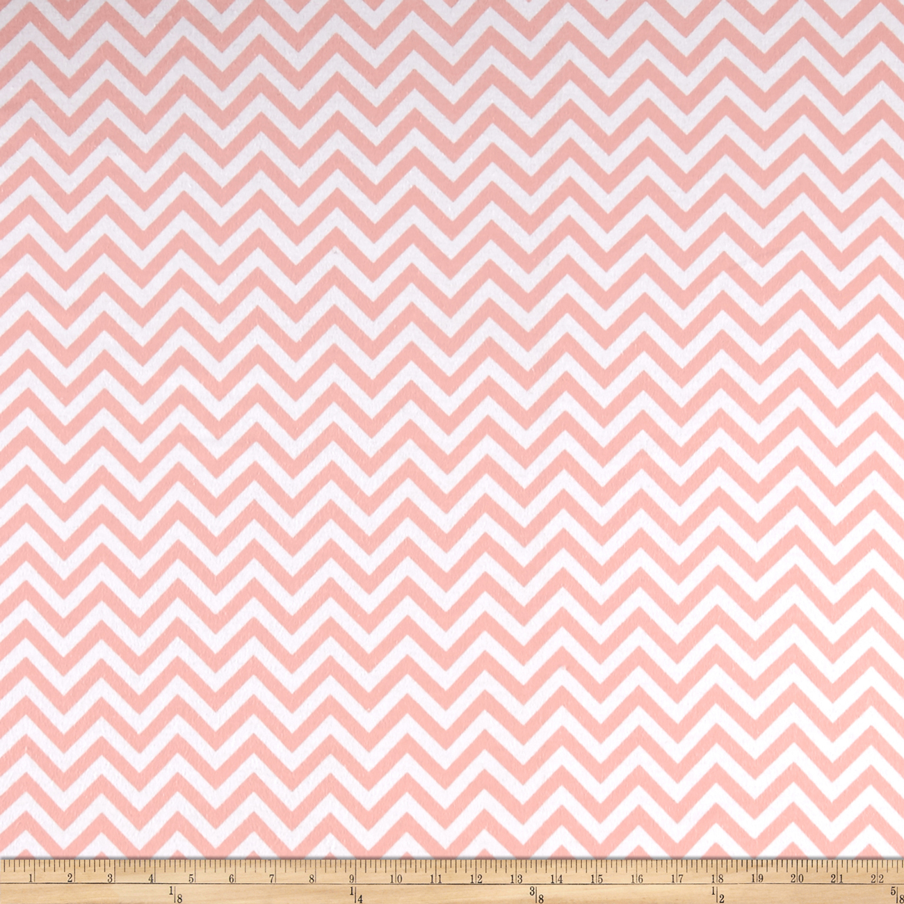 Flannel Chevron Watermelon Fabric