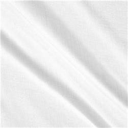 Viscose Voile Solid White