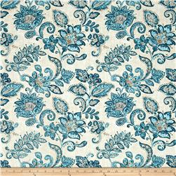 Timeless Treasures Santorini Jacobean Floral Cream
