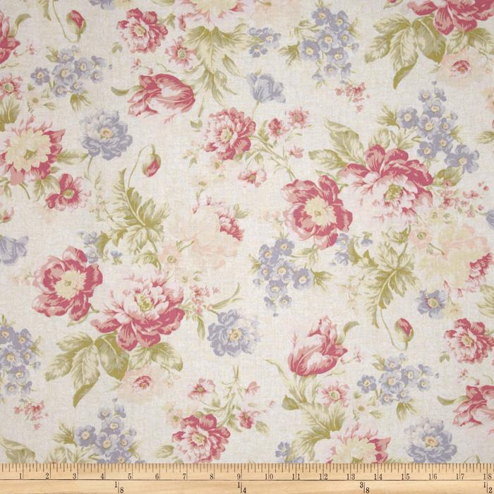 Pristine Large Floral Antique Rose