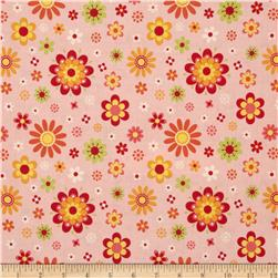 Riley Blake Just Dreamy 2 Floral Pink