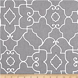 Covington Windsor Pewter Fabric