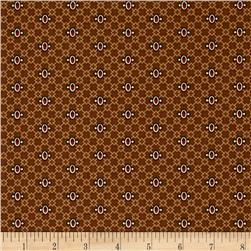 Windham Threads of Time Lattice Dot Brown