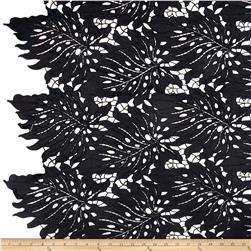 Palms Guipure Lace Black
