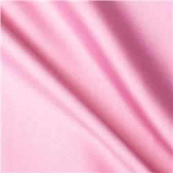 Stretch Cotton Poly Satin Pink Fabric