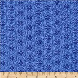 Moda Beach House Mini Medallions Periwinkle