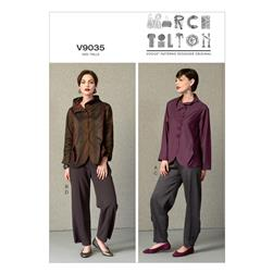 Vogue Misses' Jacket and Pants Pattern V9035 Size A50
