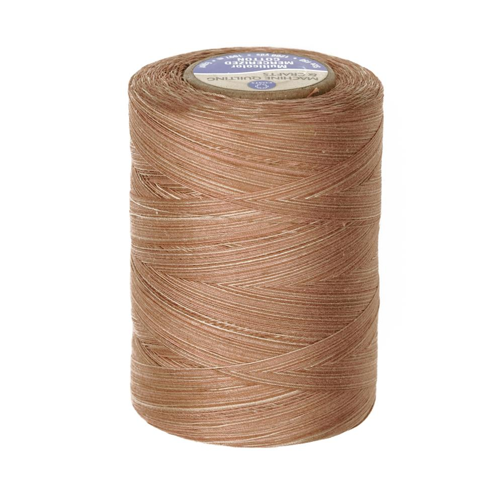 Coats & Clark Star Mercerized Cotton Quilting Thread Multicolor Thread 1200 Yd. Old Barn