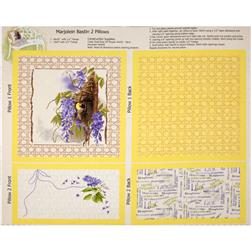 Nature's Palette Pillow Panel Canary