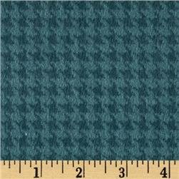 Kensington Flannel Houndstooth Teal