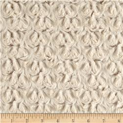 Minky Frosted Rose Cuddle Camel/Beige