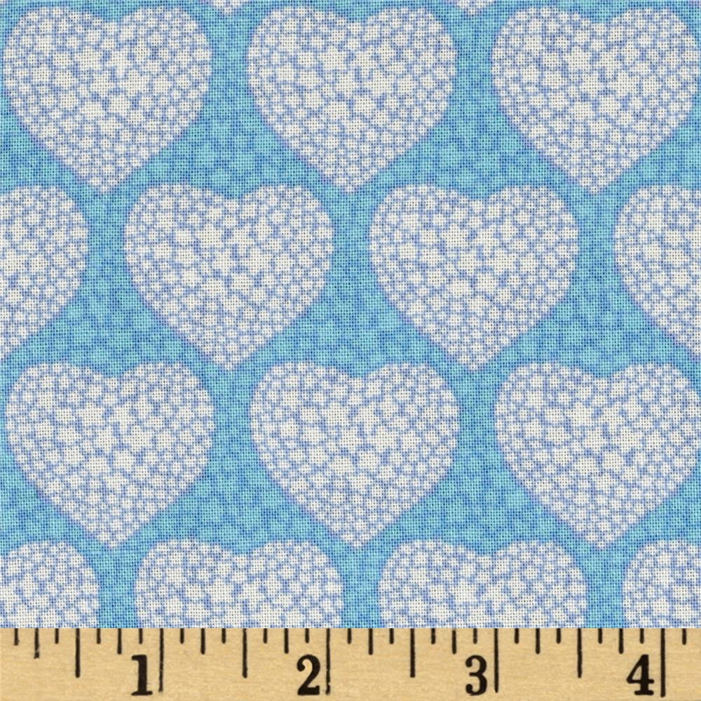 Grace Hearts Teal