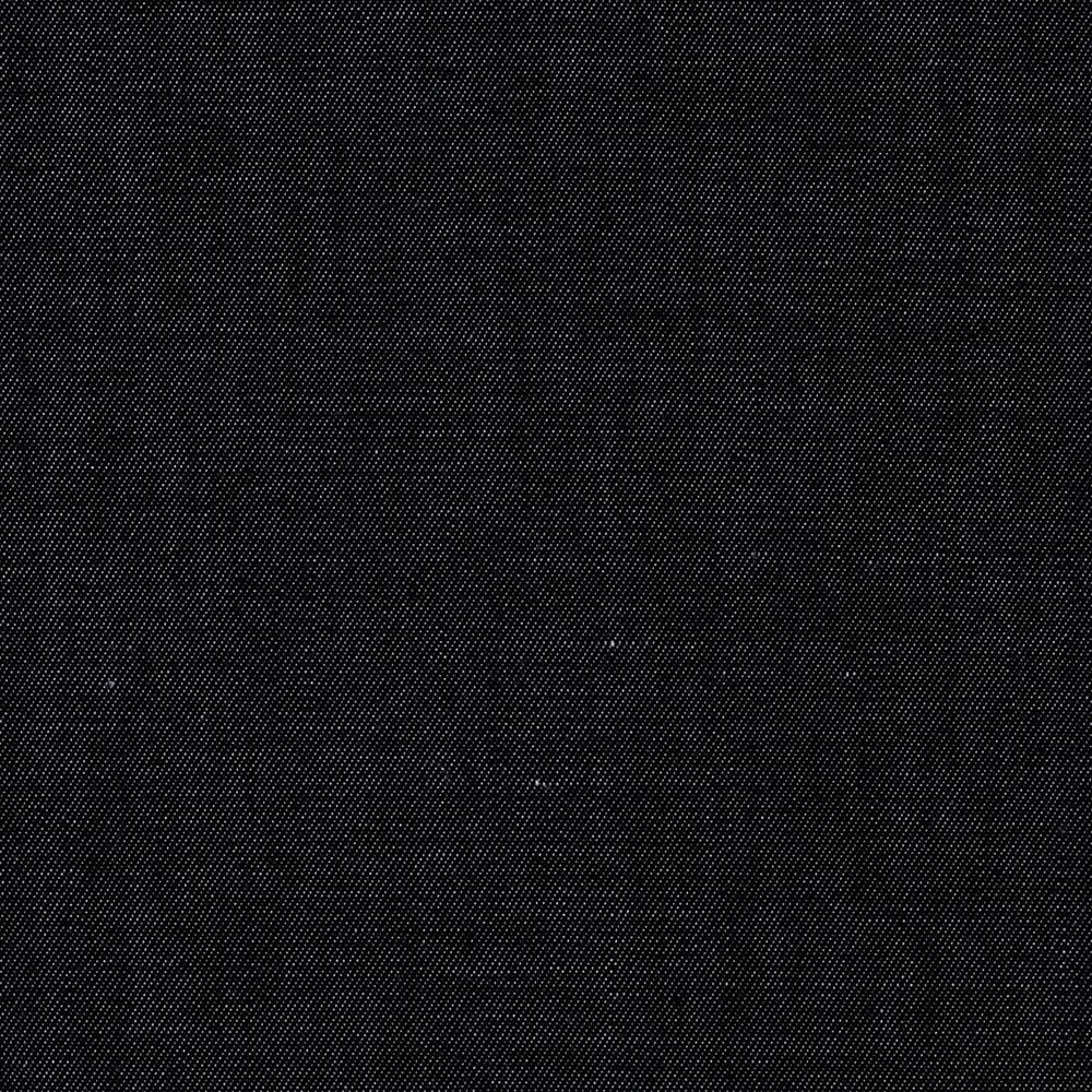 Kaufman cotton rayon chambray twill black discount for Black fabric