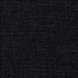 Cotton Rayon Chambray Twill Black