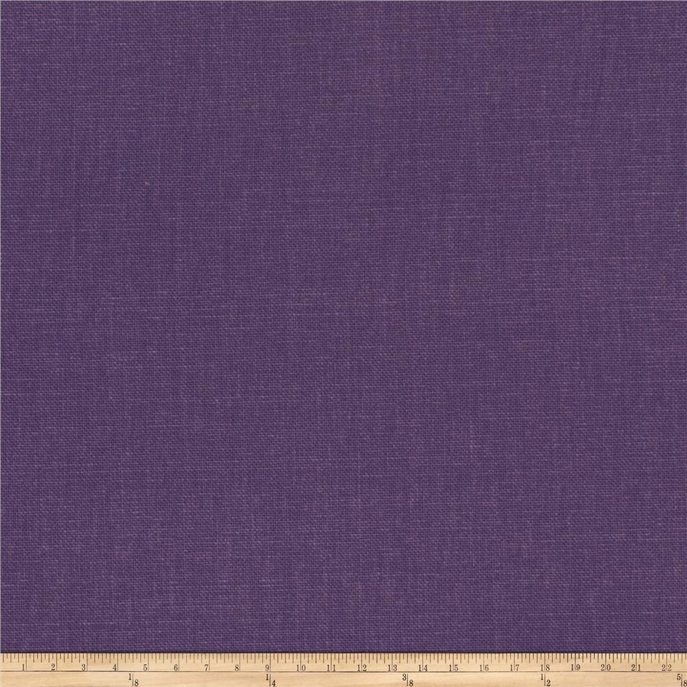 Fabricut principal brushed cotton canvas iris discount for Canvas fabric